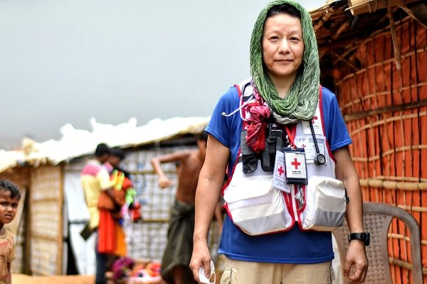 As monsoon intensifies, 'unsung heroes' bring health  and maternal care to Cox's Bazar camps