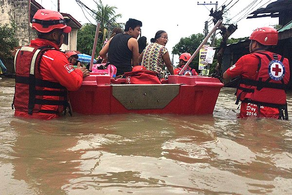 Heavy, continuous monsoon rain across East Asia  tests humanitarian system as IFRC announces emergency cash for Philippines