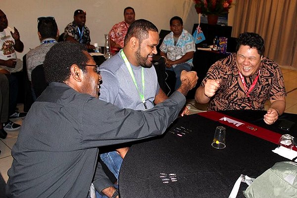 Games integrated into technical training  at 4th Pacific Islands Climate Outlook Forum