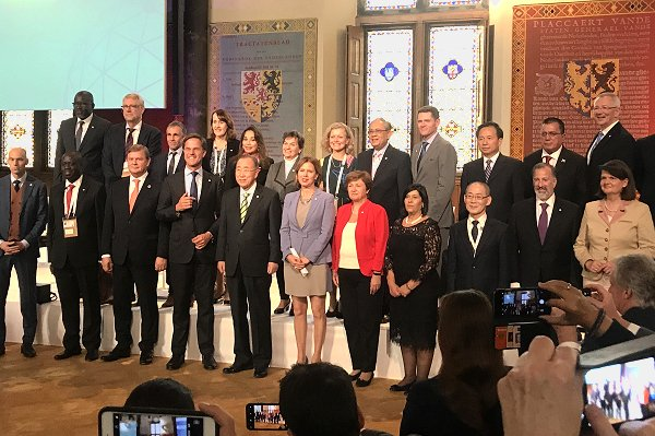 World leaders combine to catalyse climate adaptation