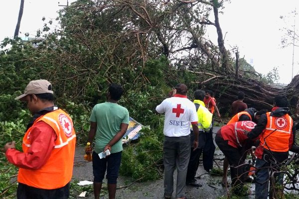 IFRC releases humanitarian cash for Tamil Nadu after good preparedness averts 'major disaster' in cyclone