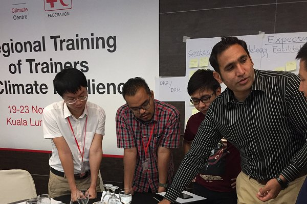 Climate-related training for trainers at IFRC Asia Pacific HQ