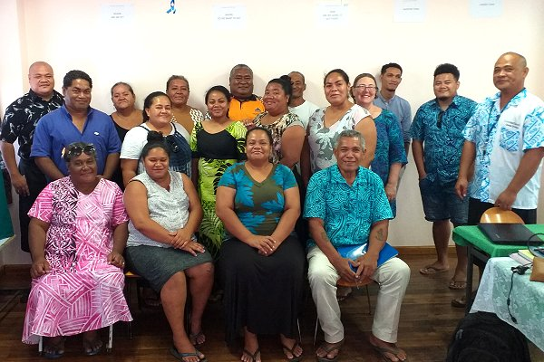 Forging partnerships for early warning early action in Tuvalu