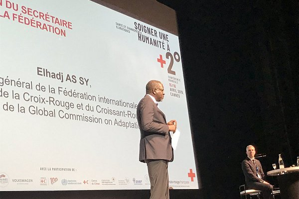 IFRC at centenary climate and health conference in Cannes: a call for 'inspiration, resolve, leadership'
