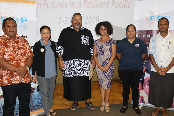 Early warning for waves helping to build resilience in Tuvalu