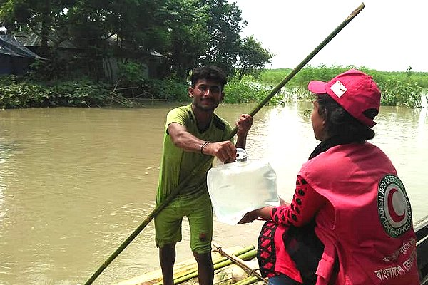IFRC: Severe flooding puts more than 4 million people in Bangladesh at risk of food insecurity and disease