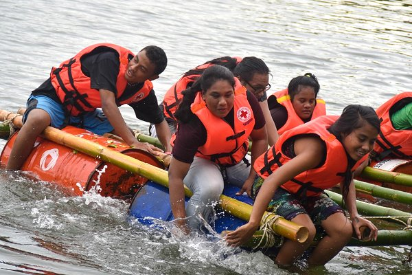 North Pacific Red Cross 'supercamp' readies youth for climate action, Y-Adapt rollout