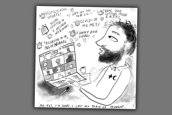 IFRC-Climate Centre 'cartoonathon' participants ask: after COVID will the new-normal stick?