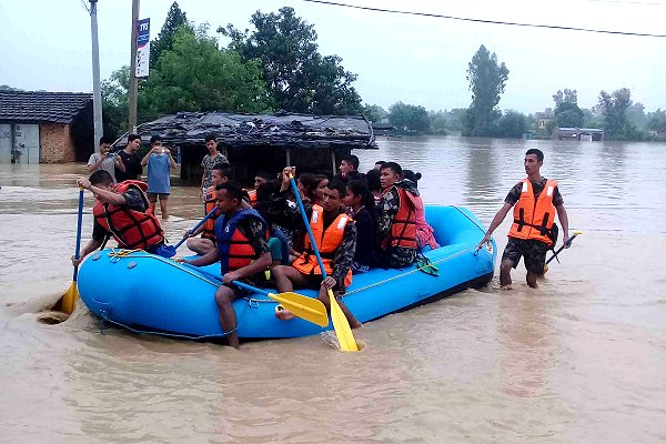 Fostering anticipatory action on floods through social protection in Nepal