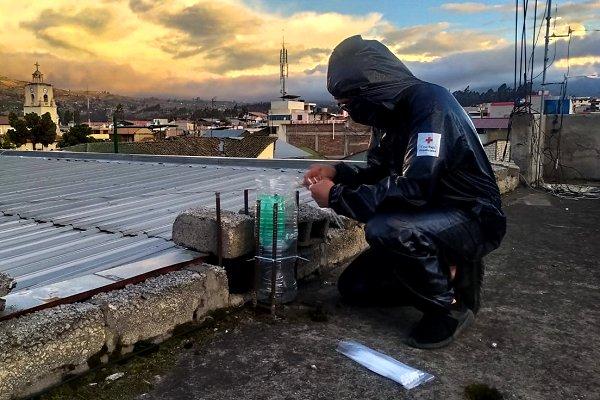 Ecuador volcano eruption puts Red Cross observers through their paces