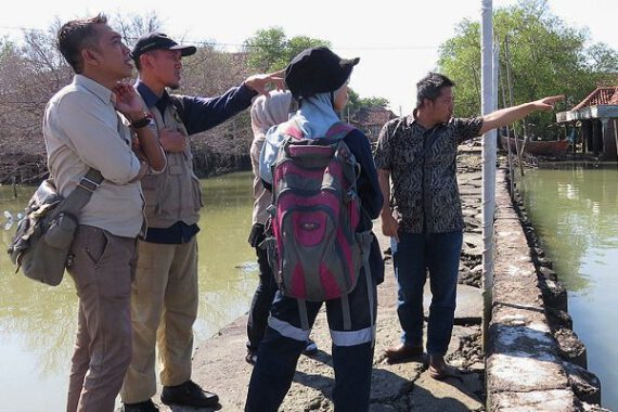 Indonesian Red Cross welcomes progress on government and PfR road map for addressing land subsidence