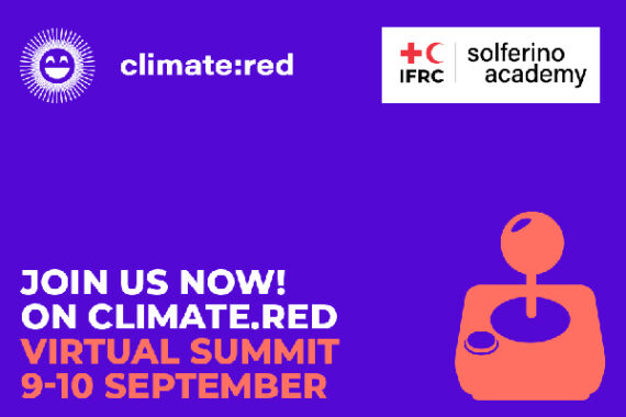 IFRC's first-ever virtual climate summit, Climate:Red, 'happening everywhere'