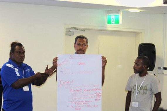 Solomon Islands early-action rainfall workshop