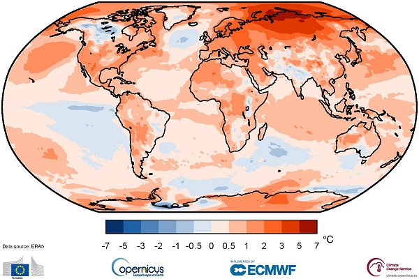 2020: a year of 'extraordinary climate events' and a tie for the warmest on record