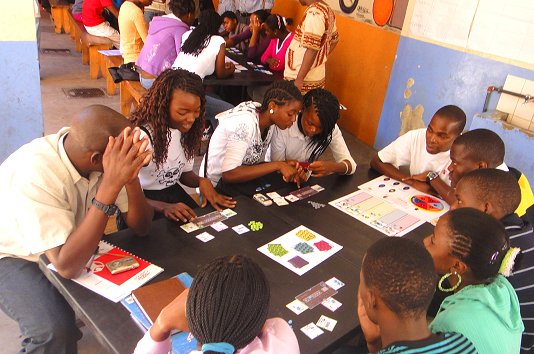 Young Mozambicans practise 'forward-looking decision-making'