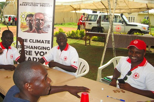 Unique Red Cross project in Uganda  to disburse funds ahead of disaster