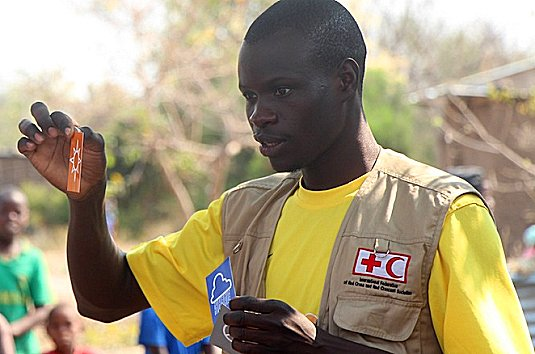'Upriver': a game of flood preparedness in the Zambezi valley