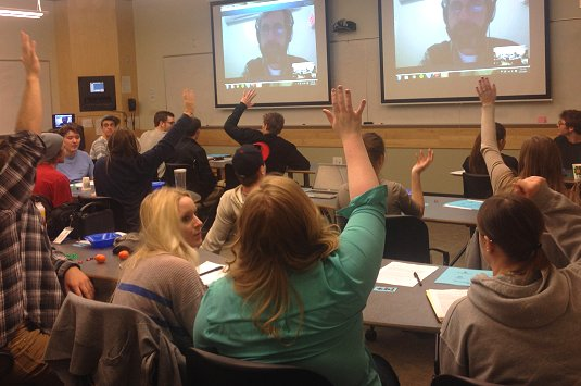 How to 'be Boulder' with climate communications.  A webcam session of Paying for predictions