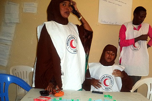 Somali Red Crescent rolls out participatory climate games