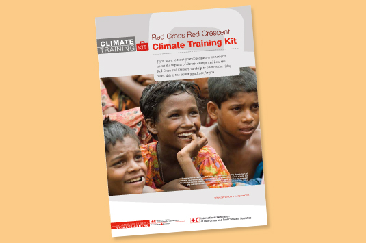 'Climate Training Kit' for Red Cross  Red Crescent Movement launched online