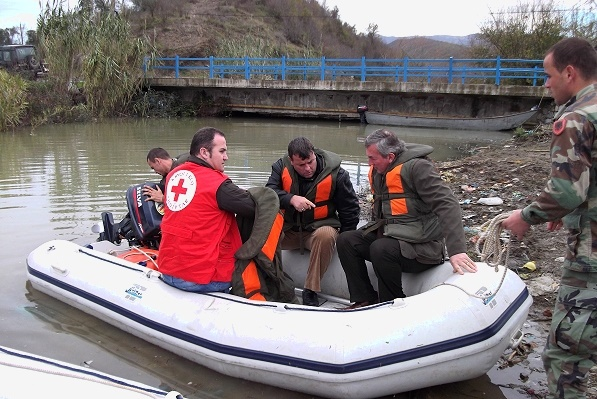 IFRC humanitarian cash for Albania after 'worst floods since 1971'