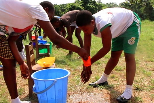 UNICEF and Climate Centre address health risks  in Ghana through serious play