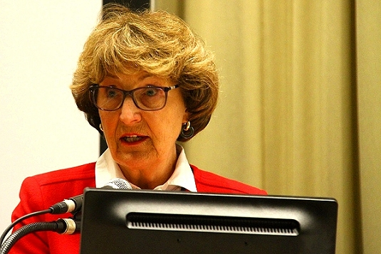 'Let's square up to the task': Princess Margriet of the Netherlands speaks to UN conference on disaster risk