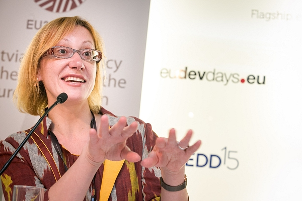 Women often the 'designers and builders' ofcommunity resilience, EDD15 panel in Brussels hears