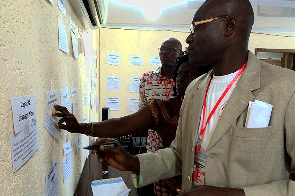 'Le climat change! Et vous?' Climate-related workshop in West Africa