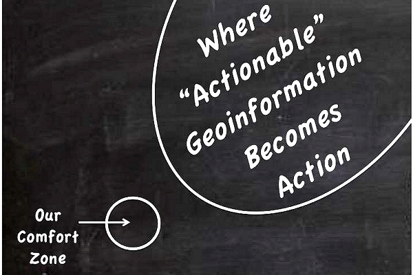 Linking games and 'geoinformation' to navigate  growing complexity and address rising risk