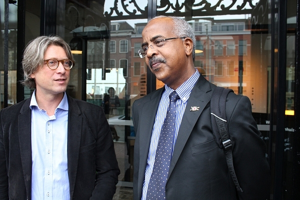 'Engage, negotiate, cajole,' Abbas Gullet tells resilience conference in The Hague