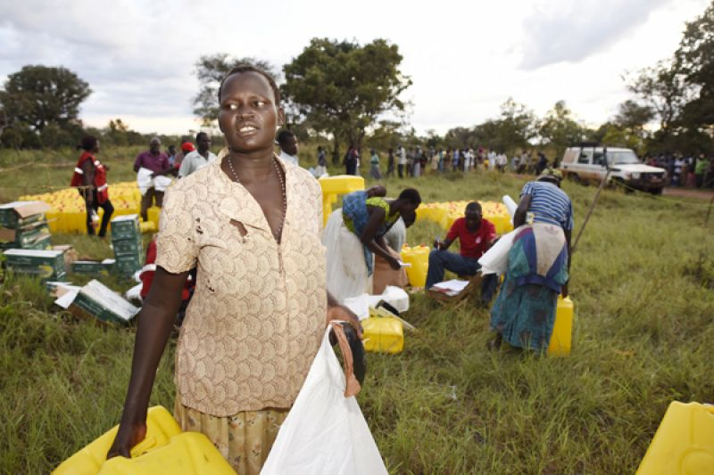 'Humanitarian history' made as Uganda Red Cross launches forecast-based financing for real