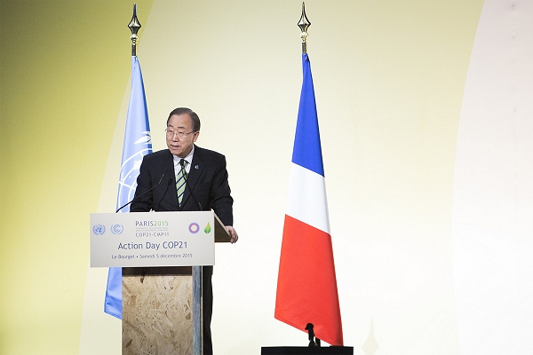 'Stars aligned' for strong, concerted action on climate, UN chief says