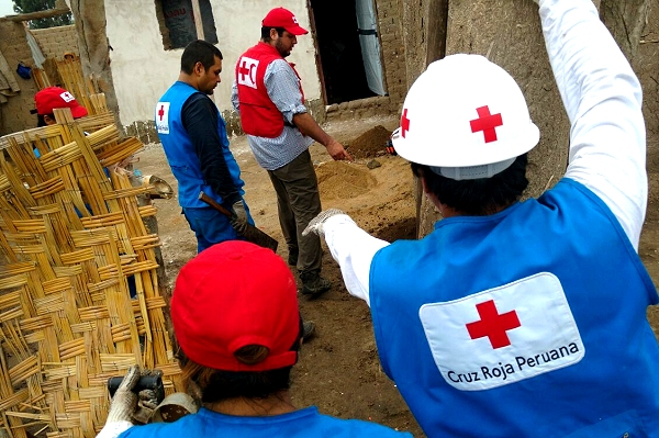 Red Cross readies forecast-based action  as heavy rains blamed on El Niño lash Peru