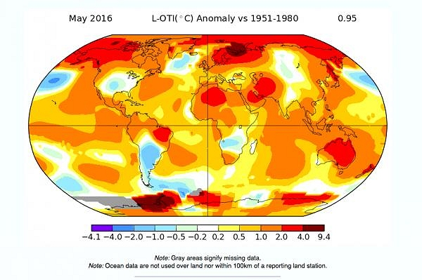 'Abnormal is the new normal'. May sets global climate records