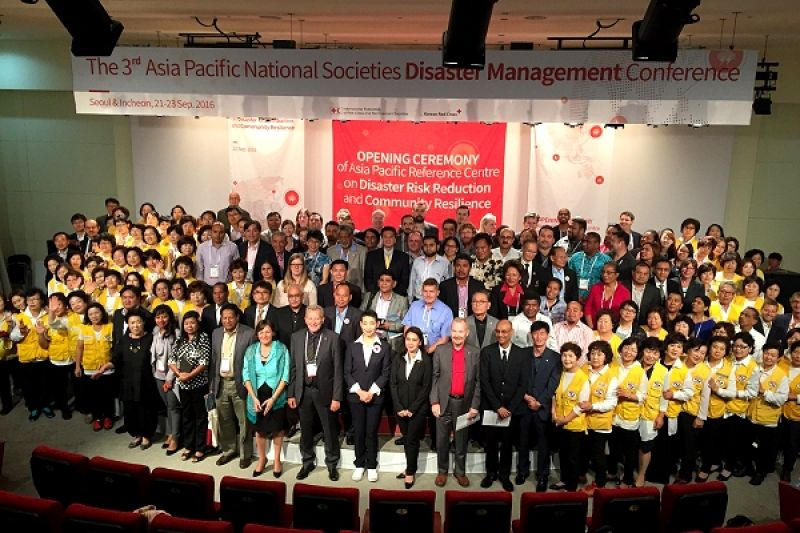 IFRC inaugurates its first reference centre in Asia Pacific