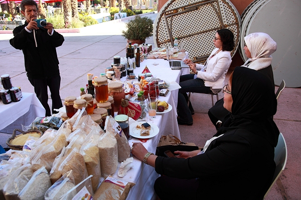 Spicing D&C Days: Moroccan women farmers, battling climate impacts, exhibit in Marrakech