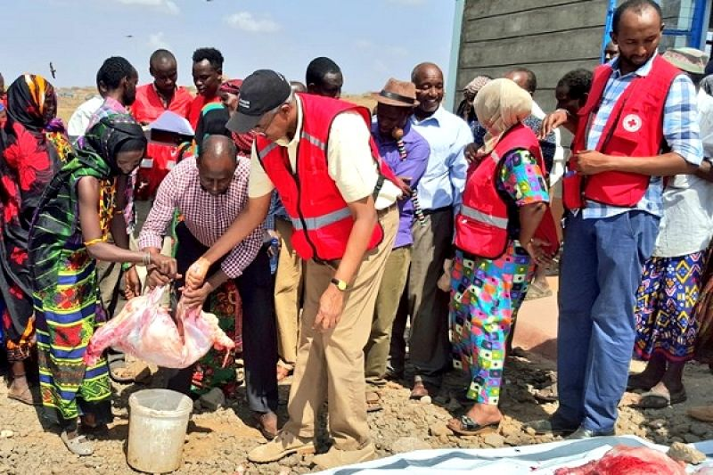 2.4 million Kenyans could be  food-insecure by April