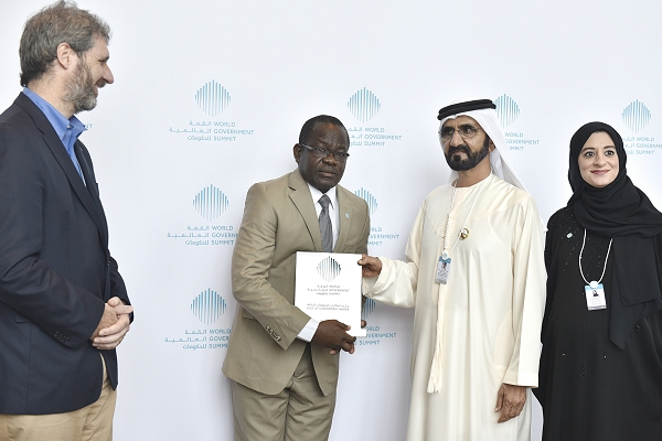 Red Cross shares in global innovation award  at World Government Summit in UAE