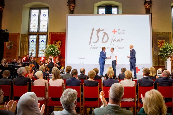 150 years of the Red Cross in the Netherlands  – and a history lesson in the 'Hall of Knights'