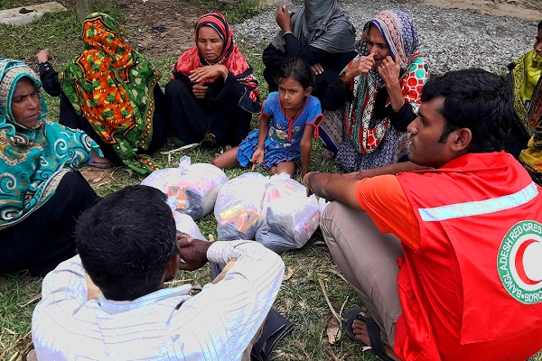IFRC seeks support for people in Bangladesh  'facing full onslaught of the monsoon season'