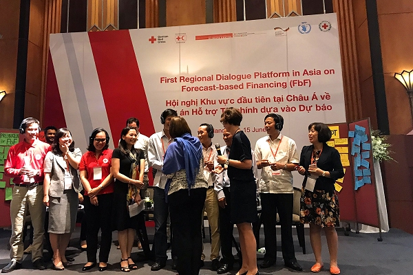 Regular international dialogue on forecast-based financing held in Asia for first time
