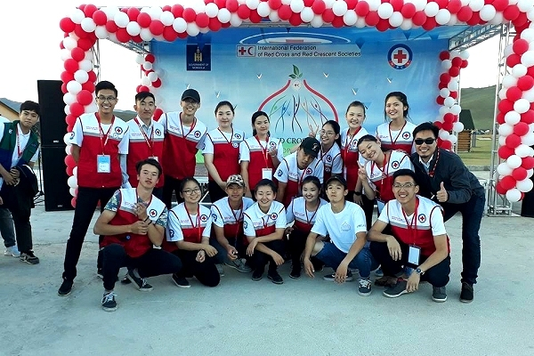 Mitigating climate impacts, building resilience: East Asia Red Cross youth summer camp