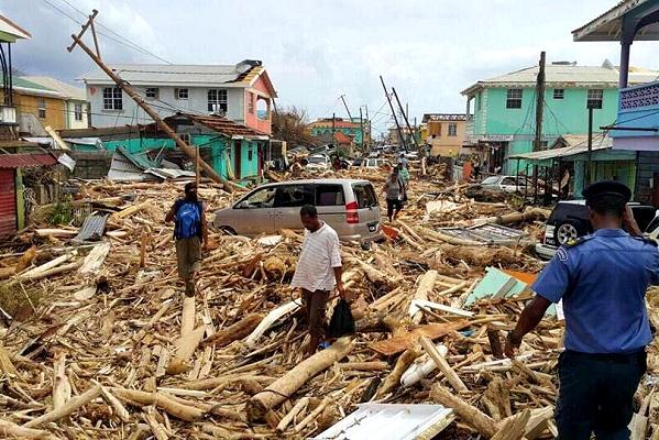International Red Cross emergency team deploying to devastated Dominica