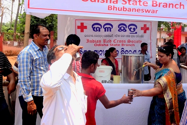Continuing integrated PfR theme, Indian Red Cross working with the Met Office on 'last mile' heatwave outreach