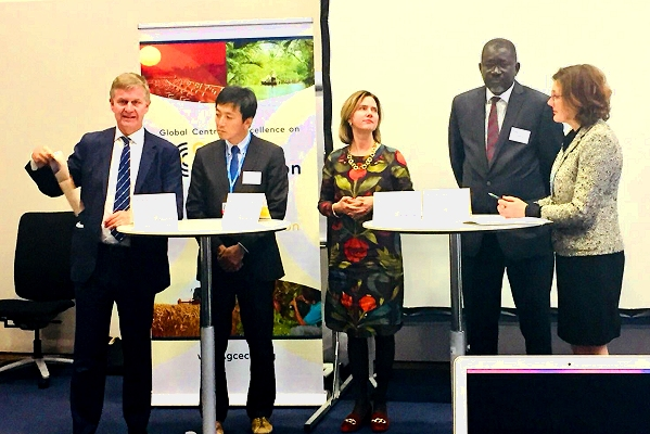 Netherlands-based global centre of excellence  on climate adaptation formally launched at COP23
