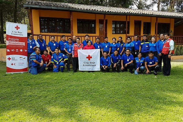 Ecuadorean Red Cross embraces  forecast-based financing