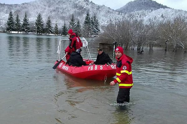 IFRC warns of flood danger in Europe with sudden thaw and heavy rain