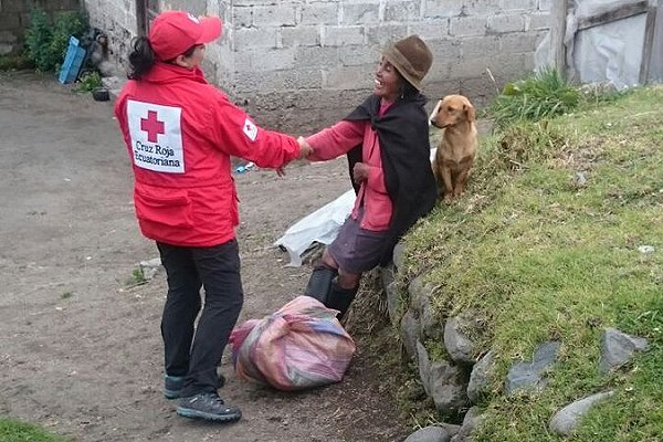 Ecuadorean Red Cross starts scoping for forecast-based response to volcanic ash