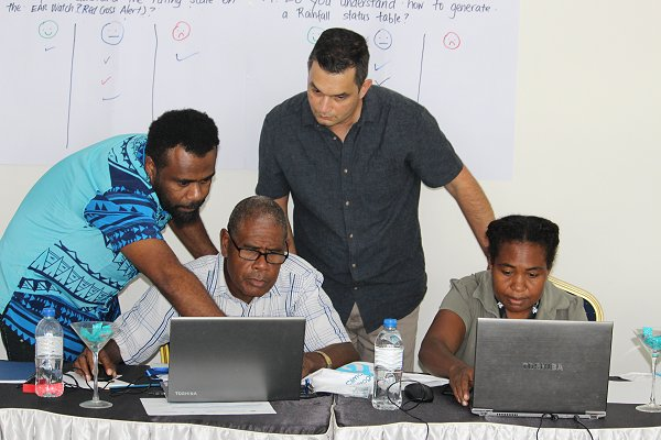 Inter-agency collaboration in Solomon Islands holds out hope of better warning on drought